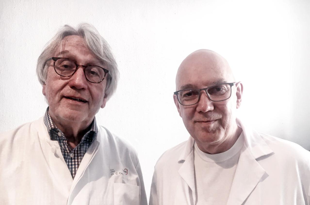Dr. Clemens Capelle und Dr. Jürgen Schwarzenberger